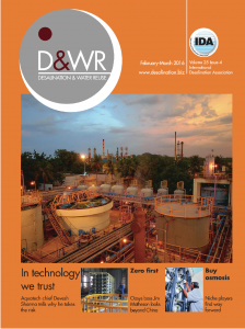 Cover of D&WR February March 2016 Issue