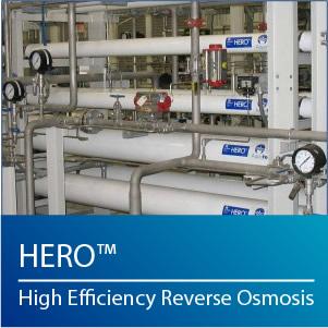 High efficiency reverse osmosis