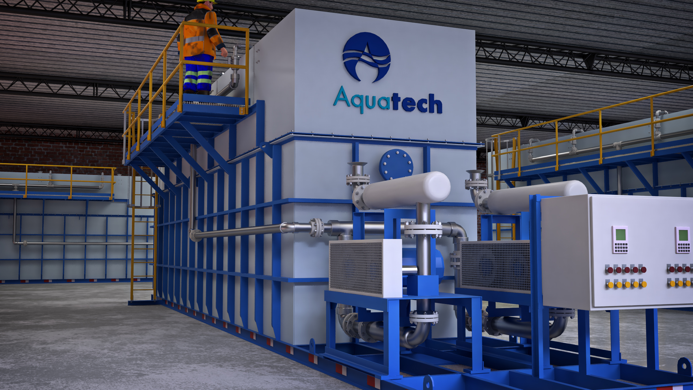Aquatech Unveils New BioMOD™ MBBR Technology