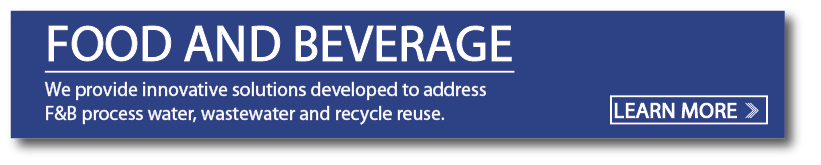 food and beverage wastewater treatment
