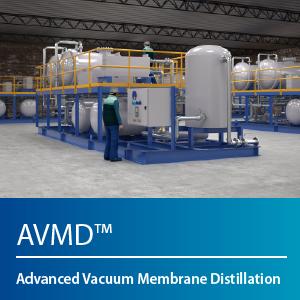 Advance vacuum membrane distillation