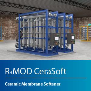 Ceramic Membrane Softener