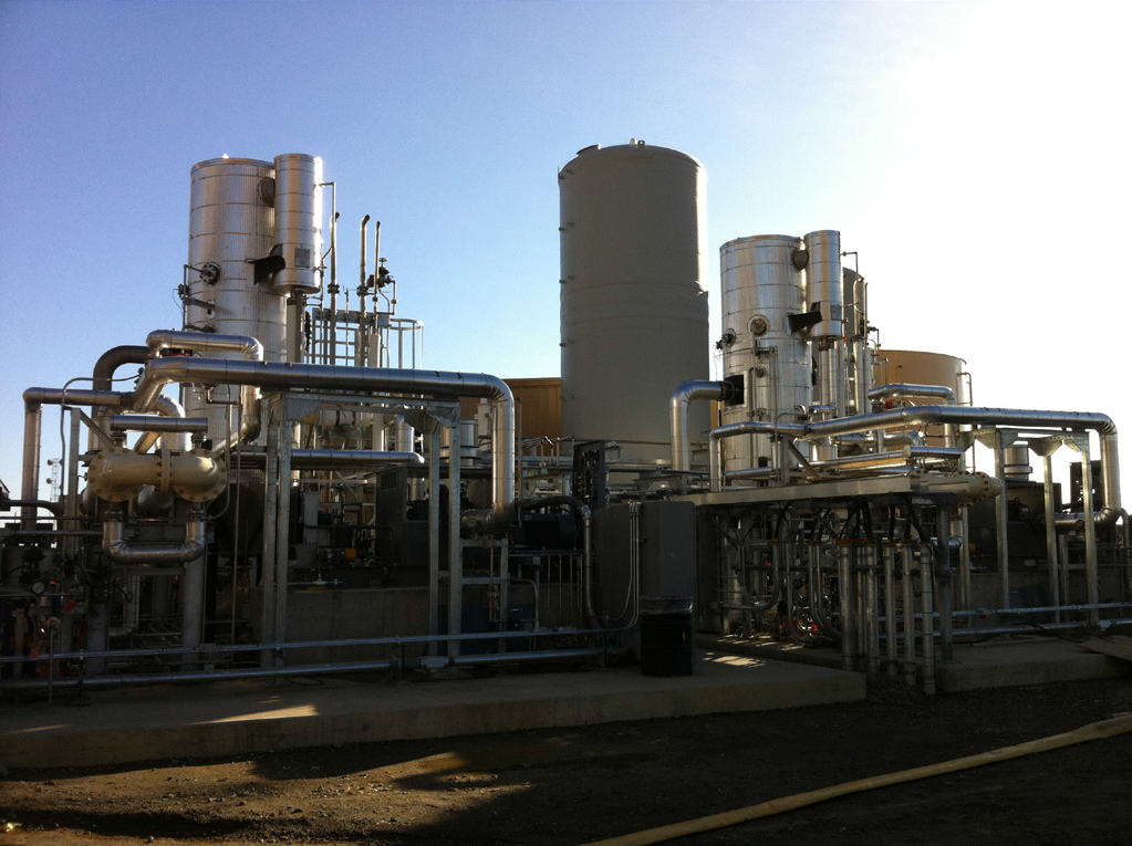 Aquatech S Wastewater Treatment Supplied To A Colusa