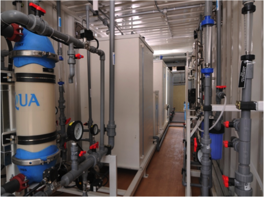 Aquatech Installs Wastewater Recovery Plant at Equate